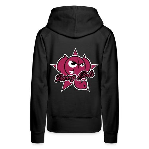 LogoBarryGirls - Sweat-shirt à capuche Premium pour femmes