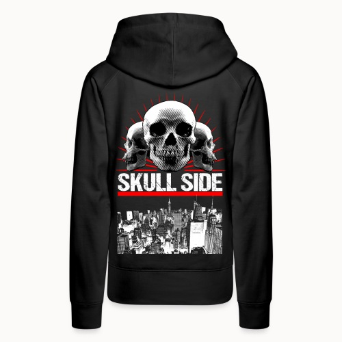 skull side city - Frauen Premium Hoodie