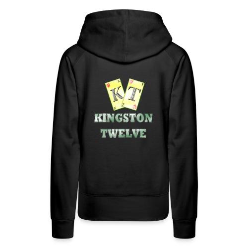 kingston twelve - Sweat-shirt à capuche Premium pour femmes