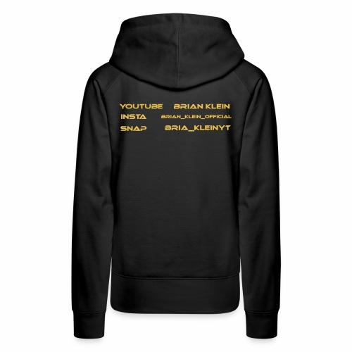 Brian Klein garderob - Premiumluvtröja dam