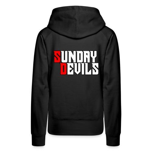 SundayDevils - Vrouwen Premium hoodie