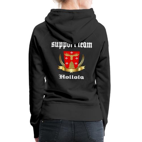 Hollola Support Team - Naisten premium-huppari