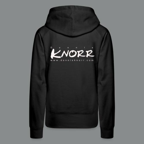 DennisKnorr Log w - Frauen Premium Hoodie