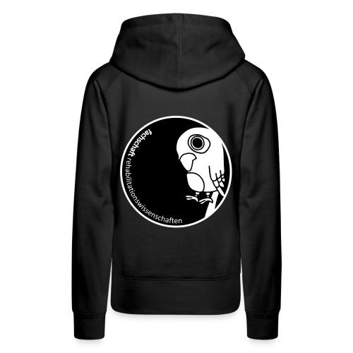 Logo mit Rand - Frauen Premium Hoodie