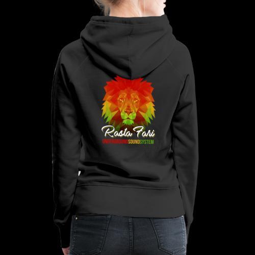 Rasta Fari LION - Frauen Premium Hoodie