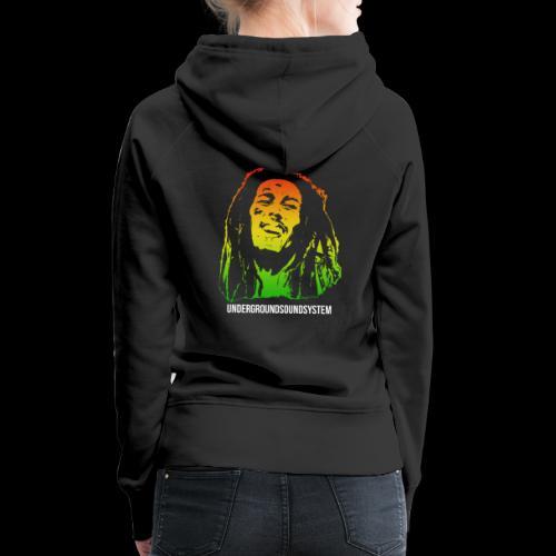 King of Reggae - Frauen Premium Hoodie