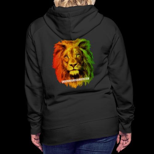 THE LION OF JUDAH - Frauen Premium Hoodie