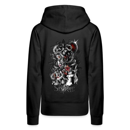 Mythologic Gorgone - Sweat-shirt à capuche Premium pour femmes