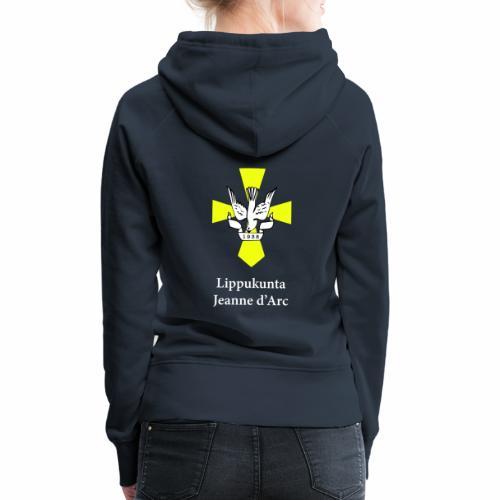 logo valk pysty - Naisten premium-huppari