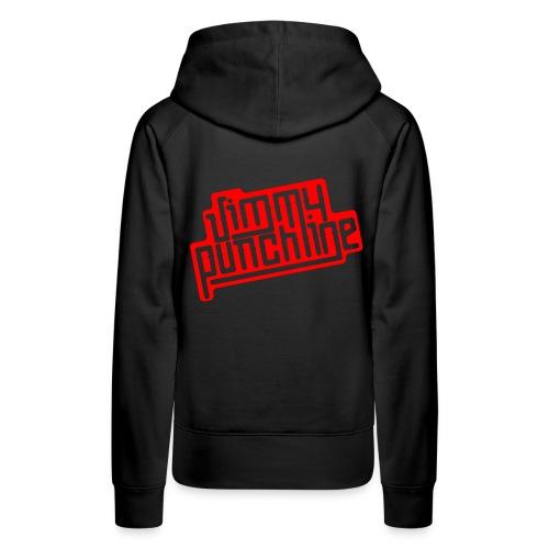 Jimmy Rouge - Sweat-shirt à capuche Premium pour femmes