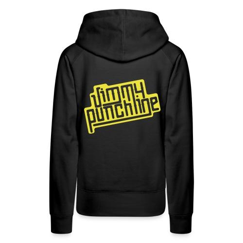 Jimmy Jaune - Sweat-shirt à capuche Premium pour femmes