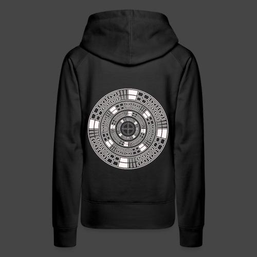 23 spirale tekno - Sweat-shirt à capuche Premium pour femmes