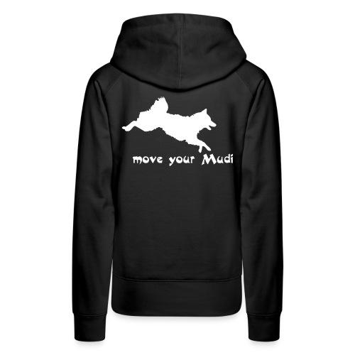 moyomu white - Women's Premium Hoodie