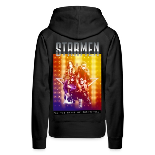 Starmen By the Grace of Rock'n'Roll - Women's Premium Hoodie