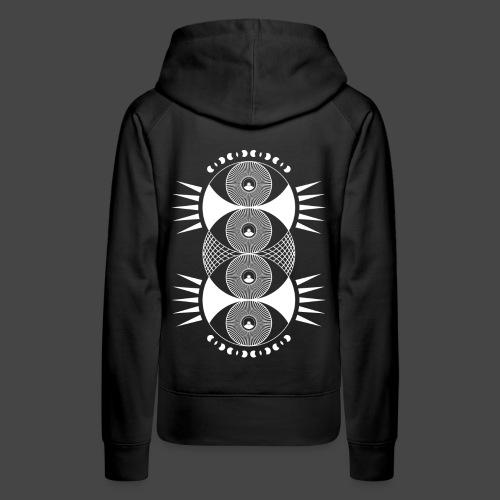 tekno 23 rings - Sweat-shirt à capuche Premium pour femmes