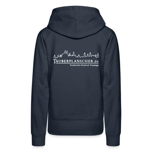 tauberplanscher logo 2c 265x105 - Frauen Premium Hoodie