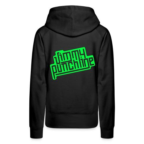 Jimmy Vert - Sweat-shirt à capuche Premium pour femmes