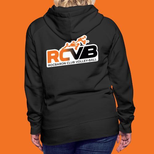 RCVB Ve tements Sportswear - Sweat-shirt à capuche Premium pour femmes