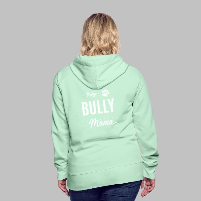Stolze Bully Mama - Hundepfote