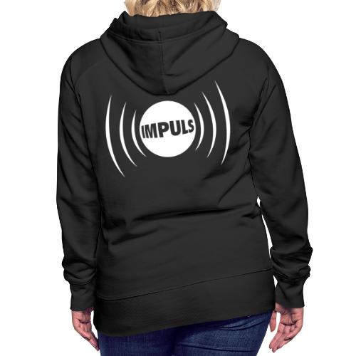 Impuls Logo white - Frauen Premium Hoodie