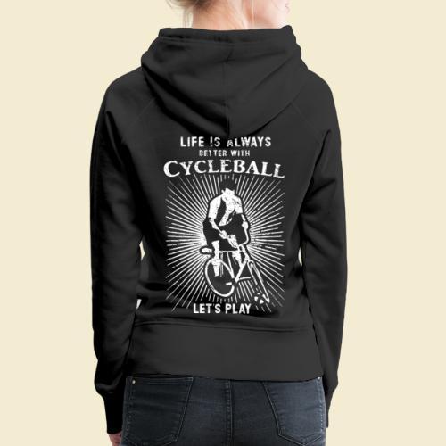 Radball   Always - Frauen Premium Hoodie