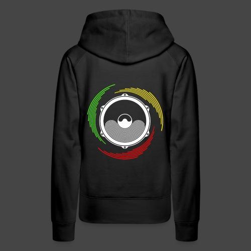 Ragga Tekno 23 - Sweat-shirt à capuche Premium pour femmes