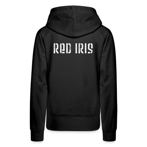 Red Iris - Frauen Premium Hoodie