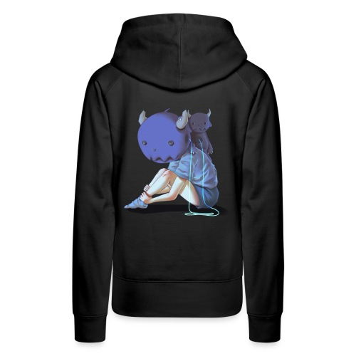 Dream Harvest: The Girl That Became A Monster - Women's Premium Hoodie