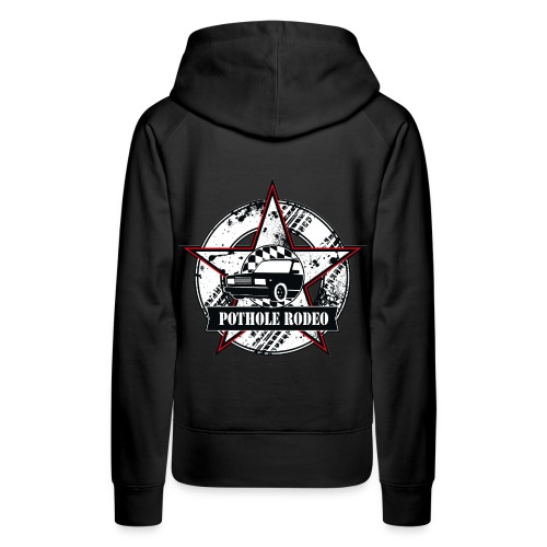 Logo Pothole Rodeo Splashes png - Frauen Premium Hoodie