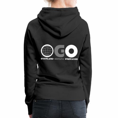 OGO-39 - Sweat-shirt à capuche Premium pour femmes