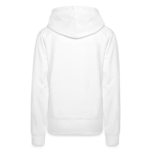 TRoA Logo hvid - Dame Premium hættetrøje