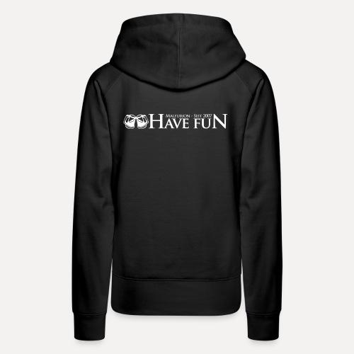 Logo Have Fun Malfurion - Frauen Premium Hoodie