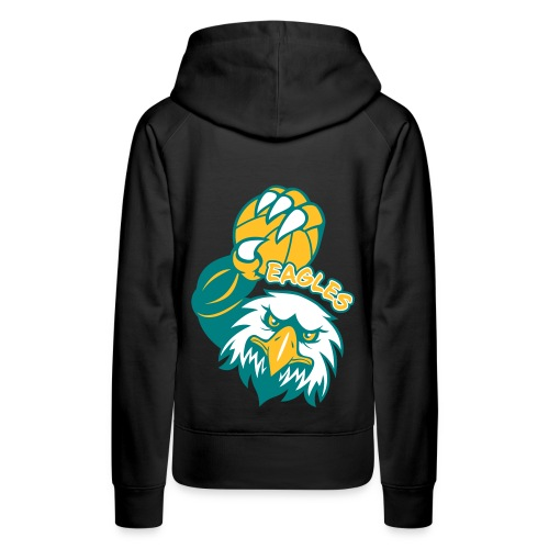 Eagles Basketball - Sweat-shirt à capuche Premium pour femmes