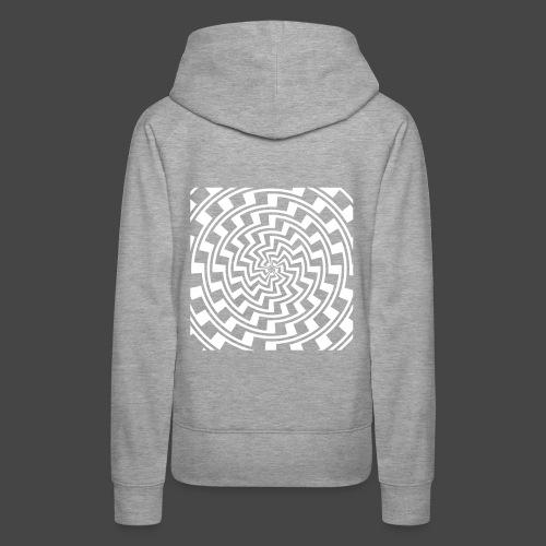 spirale 23 - Sweat-shirt à capuche Premium pour femmes