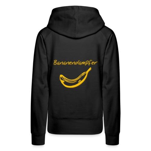 Bananendampfer - Frauen Premium Hoodie