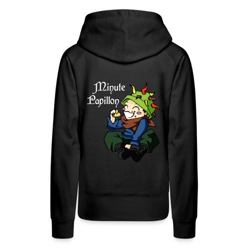 hippie chou2seul - Sweat-shirt à capuche Premium pour femmes