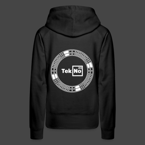 TEKNO 23 tours - Sweat-shirt à capuche Premium pour femmes