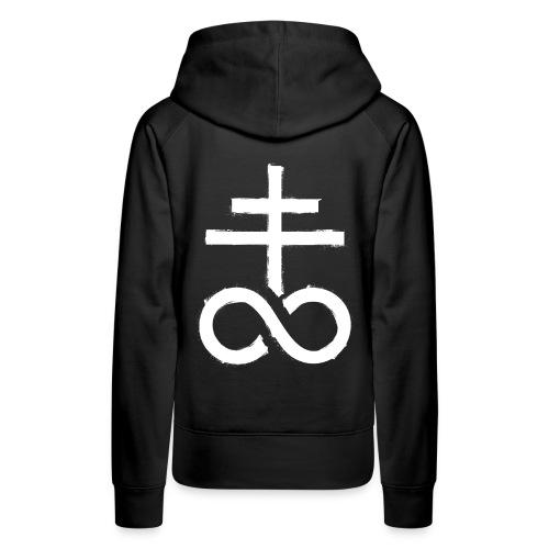 symbol satanic church 1 - Frauen Premium Hoodie