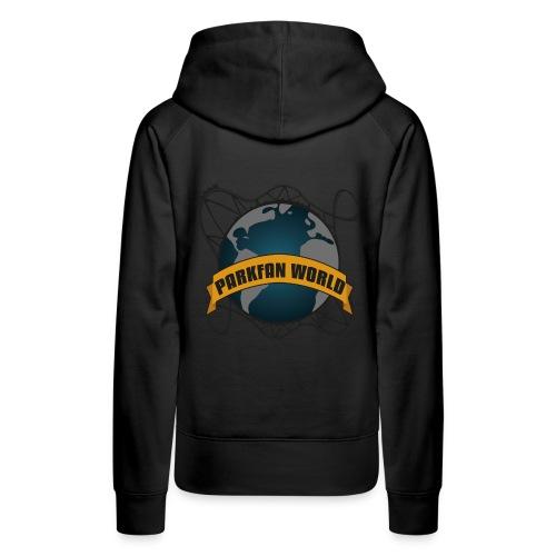 Parkfanworldpng - Sweat-shirt à capuche Premium pour femmes