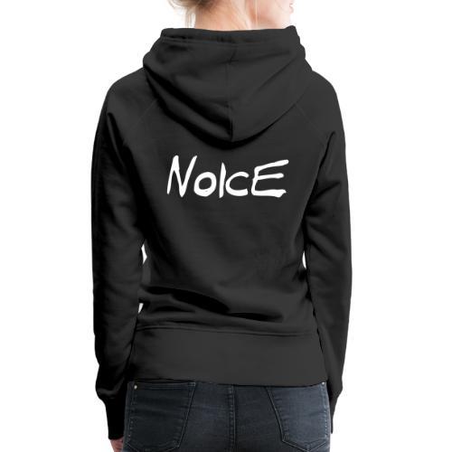 Noice - White logo - Premiumluvtröja dam