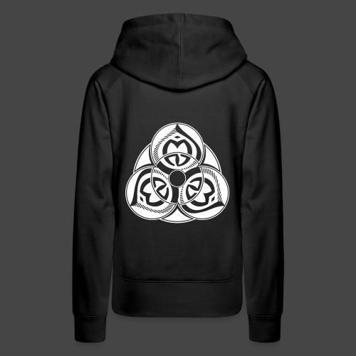 23 SPIRIT - Sweat-shirt à capuche Premium pour femmes
