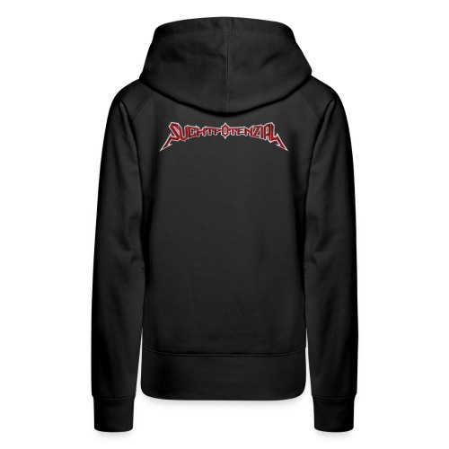 Suchtpotenzial_Bandlogo - Frauen Premium Hoodie