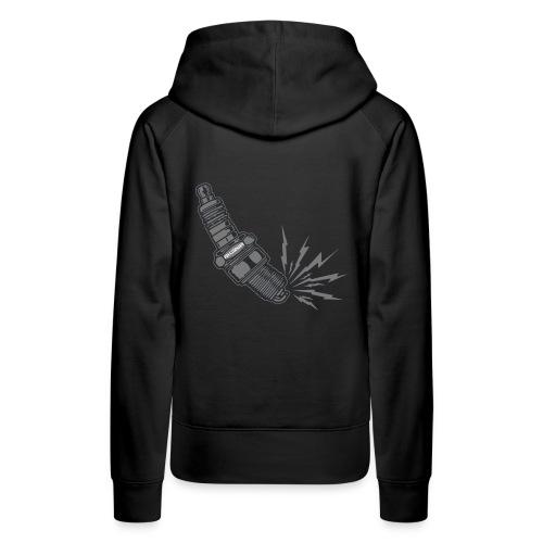 Fehlzünder Kontrast-Pullover - Frauen Premium Hoodie