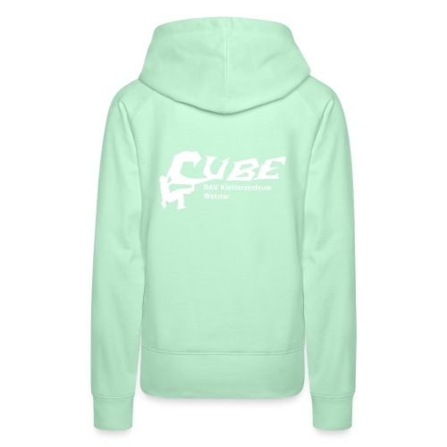cubelogo - Frauen Premium Hoodie