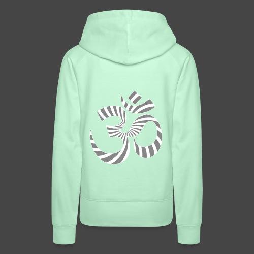 Om Aum Tekno 23 - Sweat-shirt à capuche Premium pour femmes