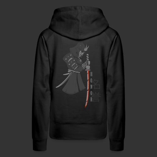 Samurai Digital Print - Women's Premium Hoodie