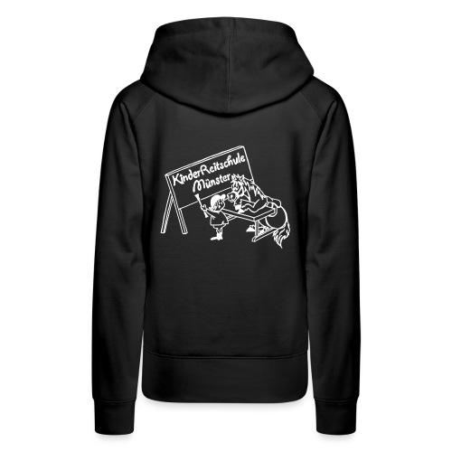 LogoWeiss - Frauen Premium Hoodie