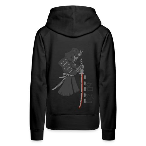 Samurai Digital Print - Frauen Premium Hoodie