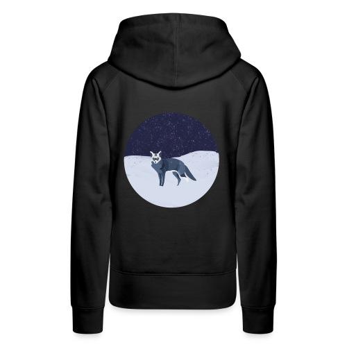Blue fox - Naisten premium-huppari