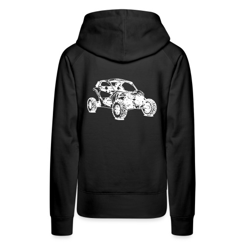 ATV Side by Side Offroad - Frauen Premium Hoodie